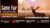 Affiche game fair 2019