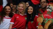 Supportrices des Lions au Caire