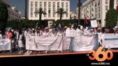 Grève étudiants médecins