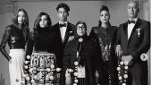 La famille Attal dans Vogue Italia
