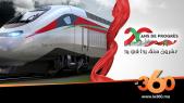 Cover Vidéo - 20 ans de règne. EP18. Chemins de fer: le Maroc à la vitesse grand V
