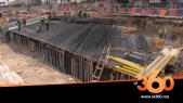 Cover_Vidéo: Le360.ma •Tramway Casablanca: voici l'état d'avancement du chantier de la trémie Ghandi
