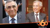 Omar Azziman et Abdellatif Menouni.