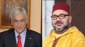 Mohammed VI et Sebastián Piñera