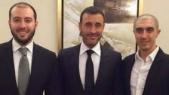 Kadem Saher et ses fils
