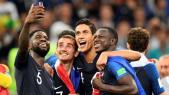 Varane Umtiti Griezmann Mendy champions du monde