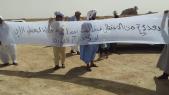Protestatires à Tindouf