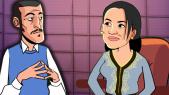 Cover Vidéo - راديو 36: سناء عكرود تتحدث عن طلاقها. ومنال بنشليخة تتصل بها على المباشر