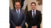 Mohamed Yassine Mansouri et Nasser Bourita
