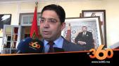 Cover_Vidéo: Le360.ma •Résolution 2494: pas de solution en dehors de l'autonomie, selon Nasser Bourita