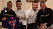 Beckham et Mbappé
