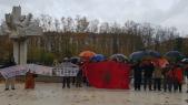 Manifestation à Vitoria