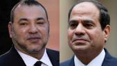 Roi Mohammed VI-Abdel Fattah al-Sissi