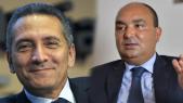 De g à d: Moulay Hafid Elalamy et Moncef Belkhayat