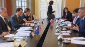 Lors de la rencontre Benchaaboun-Moulay Hafid Elalamy-Bruno Le Maire, jeudi 19 décembre à Paris