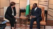 Franc CFA: la directrice du FMI salue la réforme annoncée par Ouattara et Macron