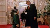 Trump et Macaulay Culkin
