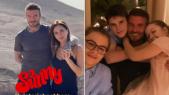 La famille Beckham au Maroc