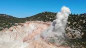 Explosion mine