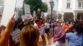 Sit in de solidarité Hanane Rabat