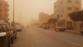 Tempête de sable-Laâyoune