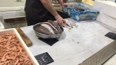 Marché au poisson de sebta