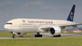 Un avion de la compagnie Saudi Airlines