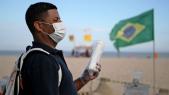 Brésil coronavirus Copacabana