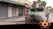 Cover_Vidéo: مدرعات الجيش تفرض حظر التجوال بشوارع وجدة