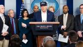 Donald Trump conférence de presse coronavirus