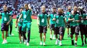 Mazembe-Raja: les joueurs ont dû sauter les barrières pour entrer sur le terrain