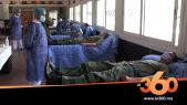 Cover Vidéo - كوفيد 19 التبرع بالدم من طرف القوات الجوية الملكية بسيدي سليمان