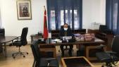 Abdelkader Amara, ministre de l'Equipement et du Transport