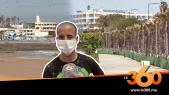 Cover Vidéo - كورونا يخلي شاطئ عين الدياب من ممارسي الرياضة