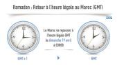 Maroc Retour à GMT