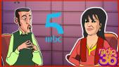 Cover Vidéo - راديو 36: فيفي عبده تحكي عن أسرار الكاميرا كاشي واتفاقها مع الضيوف