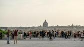 Rome déconfinement