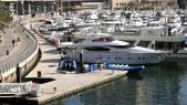 Yachts quai Marina Dubaï