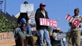Afrique du Sud, un chômage de masse qui touche plus de 7 millions de personnes actives.