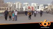Cover_Vidéo: إقبال كثيف لسكان البيضاء على كورنيش مسجد الحسن الثاني
