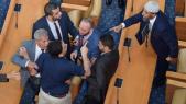 débat houleux au Parlement tunisien
