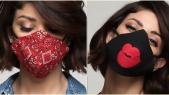 Les caches bavettes de Leila Hadioui