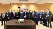 Réunion du 19 juin 2020 à la Primature avec les représentants de la CNT