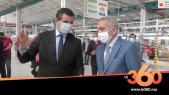 Cover Vidéo - Visite du ministre MHE à l'usine Somaca