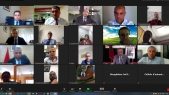 Le conseil d'administration de la FEDIC, en visioconférence et en présence de Moulay Hafid Elalamy
