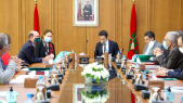 Lors de la 8e session du Conseil d'orientation stratégique de l'Agence Millennium Challenge Account-Morocco, mardi 28 juillet 2020 à Rabat