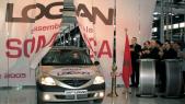 L'assemblage de la Dacia Logan à la Somaca a démarré en 2005.