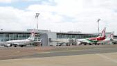 Des appareils de Royal air Maroc à l'aéroport Mohammed V de Casablanca