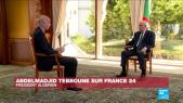 Tebboune sur France 24