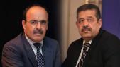 Ilyas El Omari et Hamid Chabat